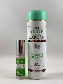 Pack Reines Aloe Vera & Arganöl Gel y serum 30ml