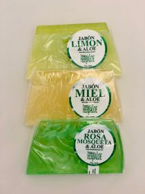 Aloe Soap Pack with: Rosehip , Lemon & Honey