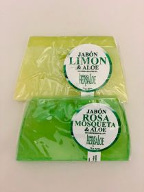 Aloe Soap Pack with: Rosehip  & Lemon