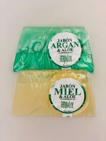 Aloe Soap Pack with: Argan & Honey