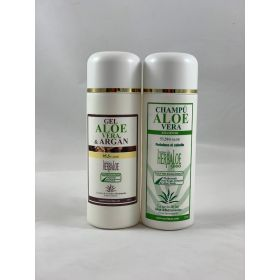 Pack de Gel Aloe & argan  y champú 250 ml