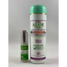 Pack de Gel de Aloe & Rosa Mosqueta y serum 30ml