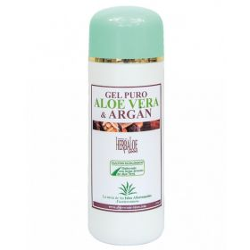 Gel Corporel À Base D'aloe Vera Pur Et D'argan