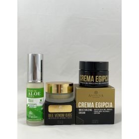 Pack Serum 30ml+ CONTORNO de ojos + CREMA EGIPCIA 50ml